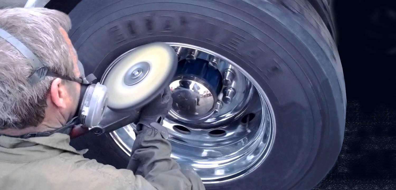 wheel polishing